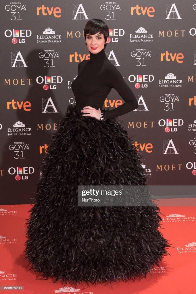 Goya Cinema Awards 2017 - Red Carpet : News Photo