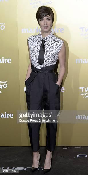 Paz Vega attends Marie Claire Prix de la Moda Awards 2015 at Callao cinema on November 19 2015 in Madrid Spain