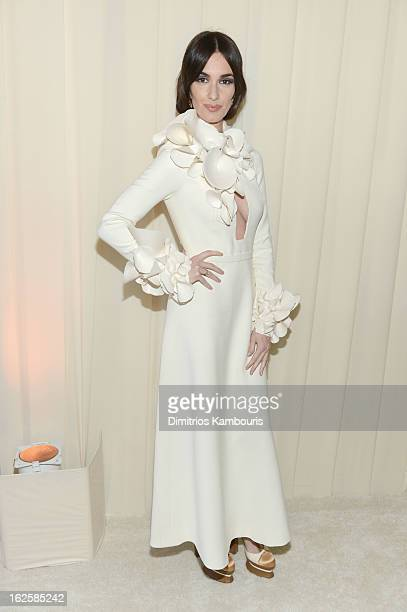 Paz Vega attends the 21st Annual Elton John AIDS Foundation Academy Awards Viewing Party at West Hollywood Park on February 24 2013 in West Hollywood...