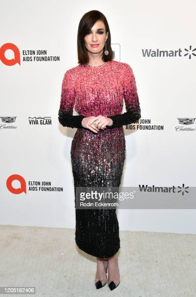 Paz Vega attends the 28th Annual Elton John AIDS Foundation Academy Awards Viewing Party Sponsored By IMDb And Neuro Drinks on February 09 2020 in...