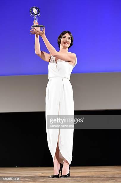 Paz Vega attends the 60th Taormina Film Fest on June 20 2014 in Taormina Italy