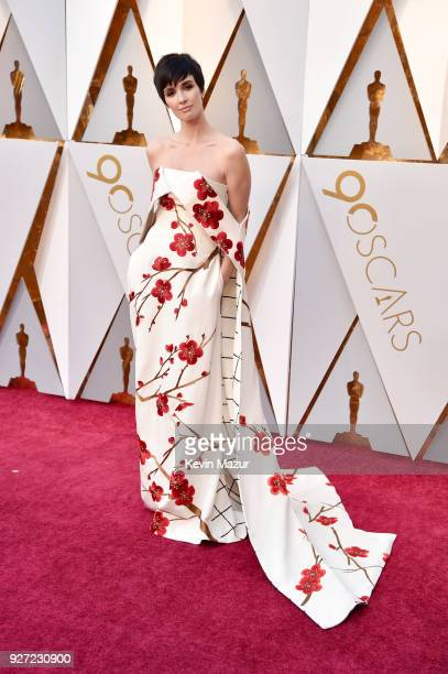 Paz Vega attends the 90th Annual Academy Awards at Hollywood Highland Center on March 4 2018 in Hollywood California