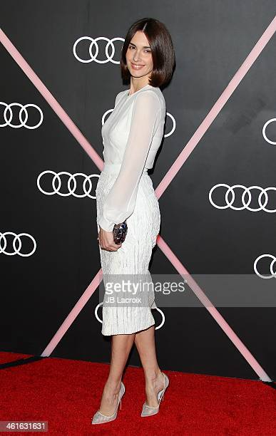 Paz Vega attends the Audi Golden Globes Weekend Cocktail Party held at Cecconi's Restaurant on January 9 2014 in Los Angeles California