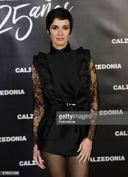 Paz Vega attends the Calzedonia 25th Anniversary party at the Real Jardin Botanico on November 23 2017 in Madrid Spain