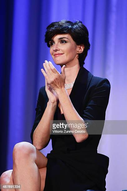 Paz Vega attends the closing ceremony during the 72nd Venice Film Festival on September 12 2015 in Venice Italy