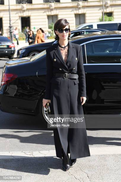 Paz Vega attends the ELie Saab show as part of the Paris Fashion Week Womenswear Spring/Summer 2019 on September 29, 2018 in Paris, France.
