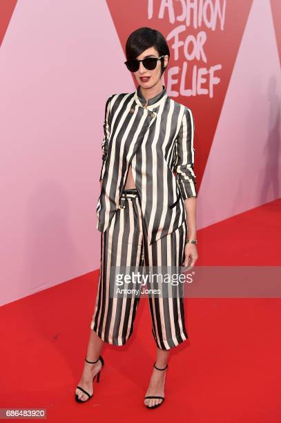 Paz Vega attends the Fashion for Relief event during the 70th annual Cannes Film Festival at Aeroport Cannes Mandelieu on May 21 2017 in Cannes France