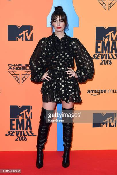 Paz Vega attends the MTV EMAs 2019 at FIBES Conference and Exhibition Centre on November 03 2019 in Seville Spain