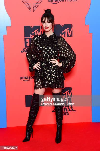 Paz Vega attends the MTV EMAs 2019 at FIBES Conference and Exhibition Centre on November 03, 2019 in Seville, Spain.