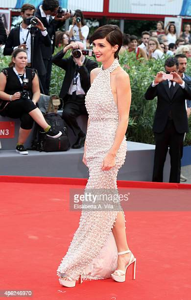 Paz Vega attends the opening ceremony and premiere of 'Everest' during the 72nd Venice Film Festival on September 2, 2015 in Venice, Italy.