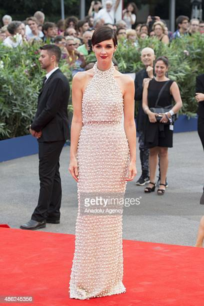 Paz Vega attends the opening ceremony and premiere of the movie 'Everest' during the 72nd Venice Film Festival on September 2, 2015 in Venice, Italy.
