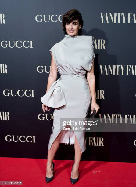 Paz Vega attends 'Vanity Fair's Personality of the Year' Awards at Royal Theatre on September 26, 2018 in Madrid, Spain.