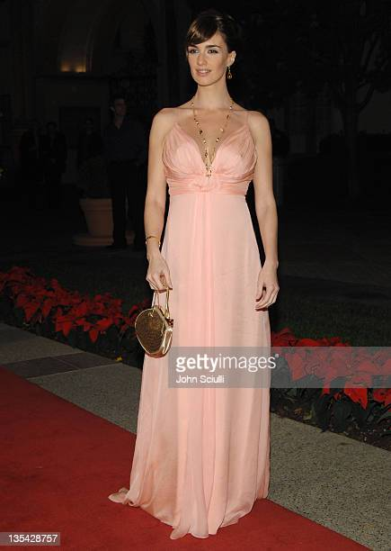 """Paz Vega during """"10 Items or Less"""" Los Angeles Premiere - Arrivals at Paramount Theater in Los Angeles, California, United States."""