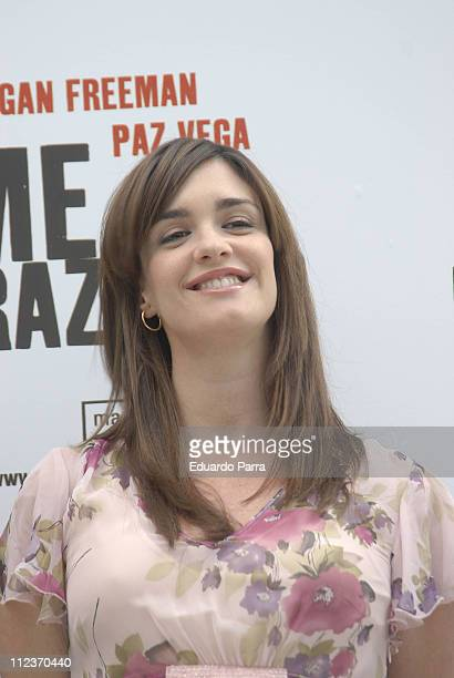 Paz Vega during '10 Items Or Less' Madrid Photocall at Ritz Hotel in Madrid Spain