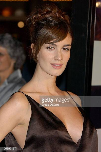 """Paz Vega during """"Babel"""" Los Angeles Premiere - Arrivals at Mann Village Theatre in Westwood, California, United States."""