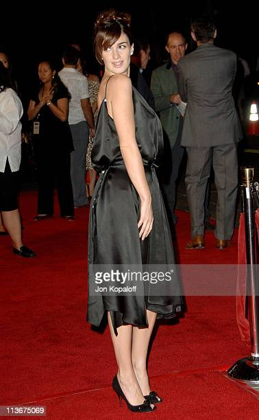 Paz Vega during 'Babel' Los Angeles Premiere Arrivals at Mann Village in Westwood California United States