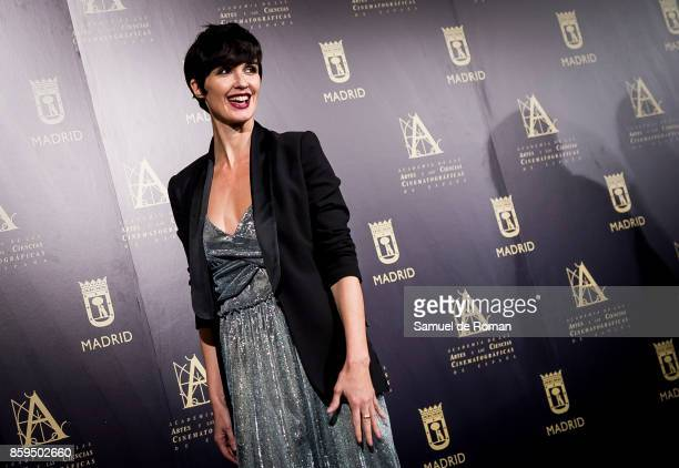 Paz Vega during 'Hollywood Madrid' Cocktail on October 9 2017 in Madrid Spain