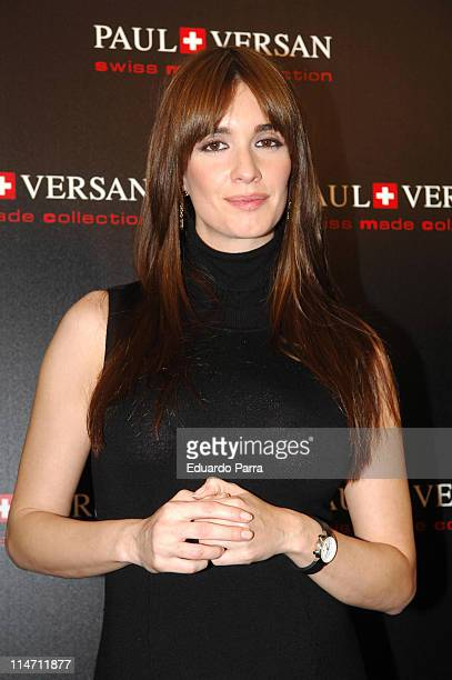 Paz Vega during Paz Vega Launches New Paul Versan Watches Collection in Madrid December 12 2006 at ME Hotel in Madrid Spain
