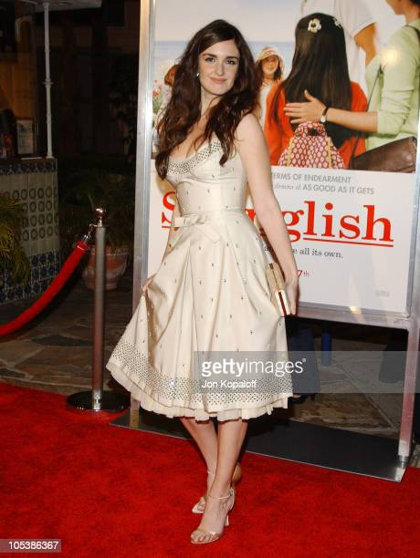 Paz Vega during 'Spanglish' Los Angeles Premiere Arrivals at Mann Village Theater in Westwood California United States