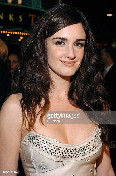 Paz Vega during 'Spanglish' Los Angeles Premiere Red Carpet at Mann Village Theater in Los Angeles California United States