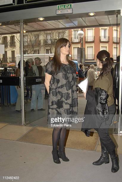 Paz Vega during 'Teresa' Madrid Photocall at Palafox Cinema in Madrid Spain