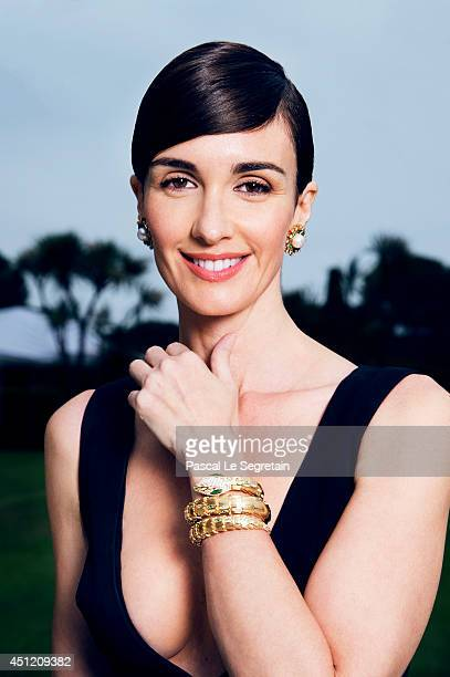 Paz Vega is photographed at AmfAR's 21st Cinema Against AIDS Gala on May 22 2014 in Cap d'Antibes France