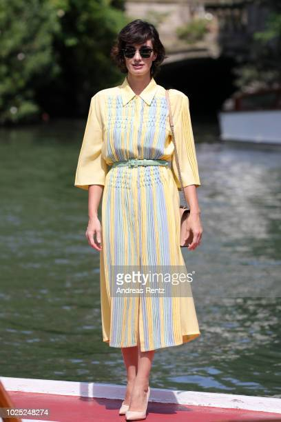 Paz Vega is seen during the 75th Venice Film Festival on August 30 2018 in Venice Italy