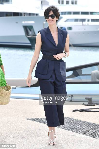 Paz Vega is spotted during the 70th annual Cannes Film Festival at on May 22 2017 in Cannes France