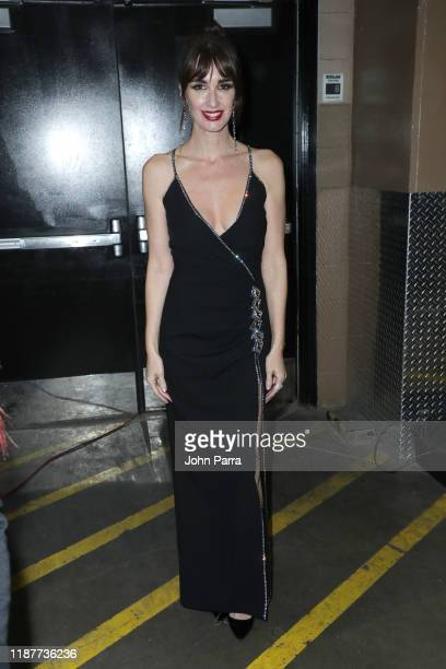 Paz Vega performs onstage during the 20th annual Latin GRAMMY Awards at MGM Grand Garden Arena on November 14 2019 in Las Vegas Nevada