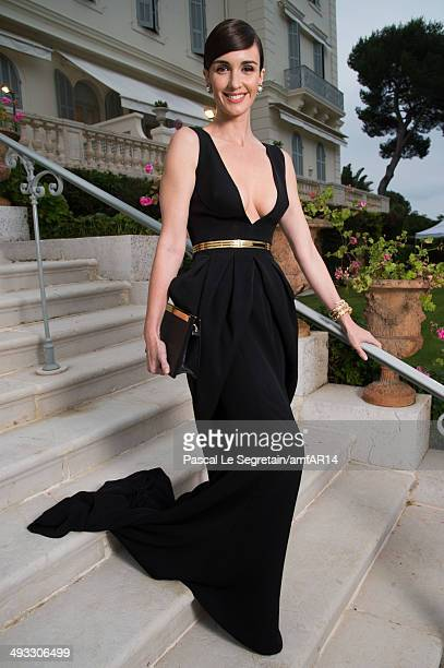 Paz Vega poses for a portrait at amfAR's 21st Cinema Against AIDS Gala Presented By WORLDVIEW BOLD FILMS And BVLGARI at Hotel du CapEdenRoc on May 22...