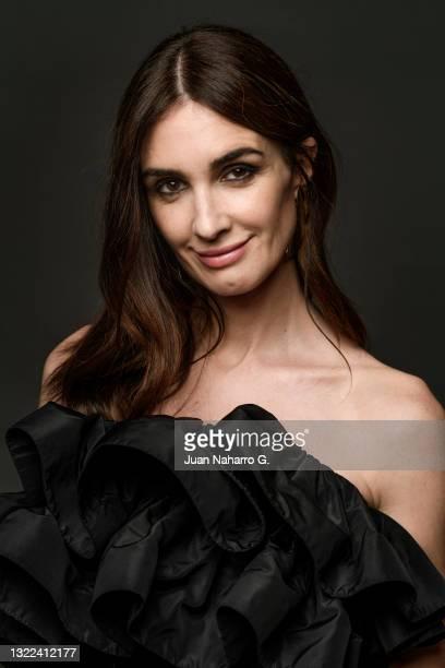 Paz Vega poses for a portrait session during 24th Malaga Spanish Film Festival on June 07, 2021 in Malaga, Spain.