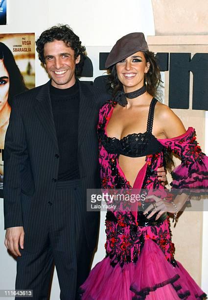 Paz Vega Wearing a John Galliano Design and Leonardo Sbaraglia