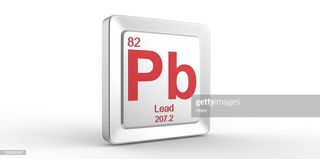 Pb Symbol 82 Material For Lead Chemical Element Stock Photo Getty