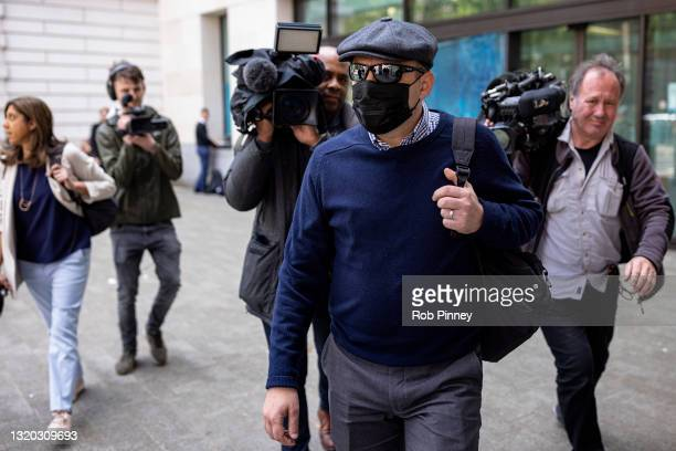 Pc Deniz Jaffer departs The City of Westminster Magistrates Court on May 27, 2021 in London, England. Pc Deniz Jaffer and Pc Jamie Lewis have each...