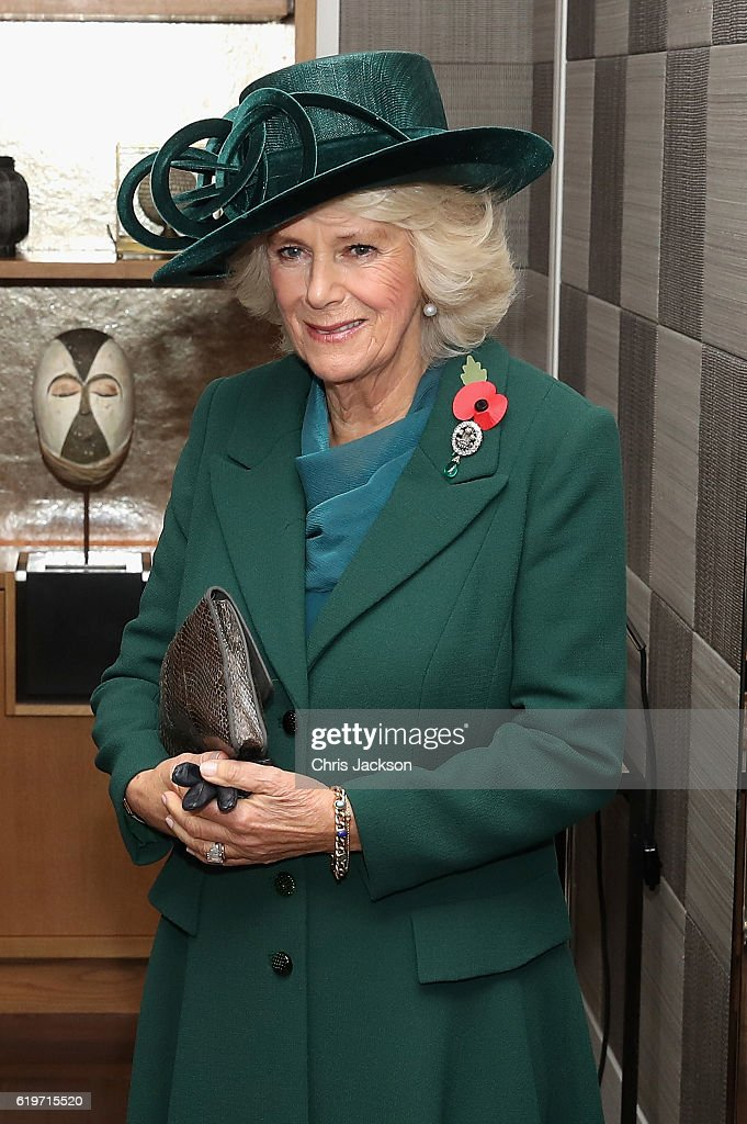 The Prince Of Wales And Duchess Of Cornwall Greet President Santos Of Colombia And Mrs Santos : News Photo