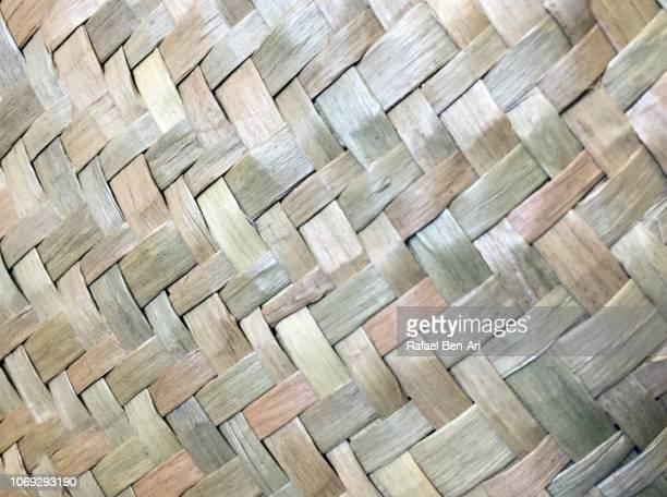 Pcific Islands Weaving Artwork Background