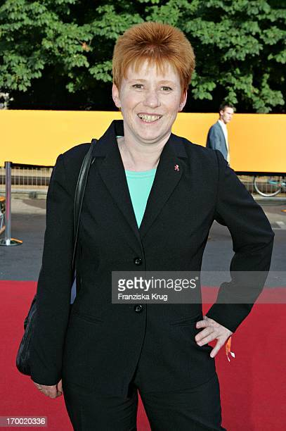 Pds politician Petra Pau When Zdf summer festival on the Museum Island in Berlin at 290605