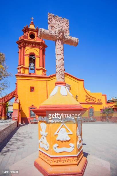 Peña de Bernal church
