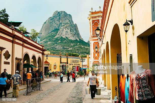 peña de bernal mexico - queretaro state stock pictures, royalty-free photos & images
