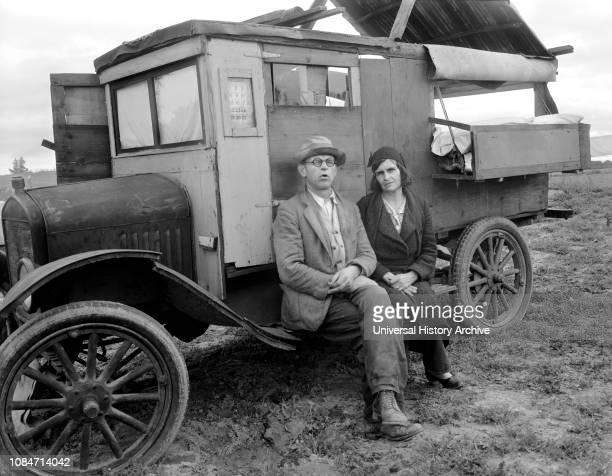 Pea Pickers, California, USA, Dorothea Lange, Farm Security Administration, March 1936.