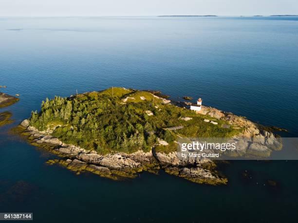 Pea Point Lighthouse, Black's Harbour, New Brunswick