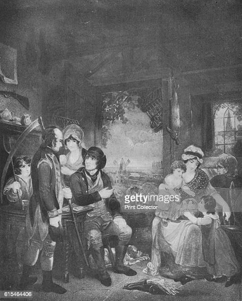 Peace' 1798 After Henry Singleton From British Military Prints by Ralph Nevill [The Connoisseur London 1909] Artist John Whessell