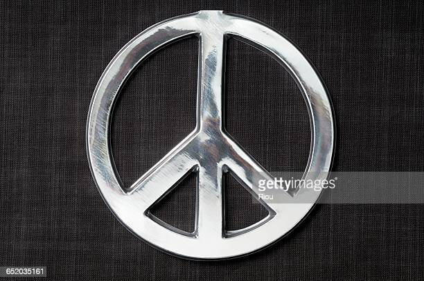 Silver Peace Symbol Stock Photos And Pictures Getty Images
