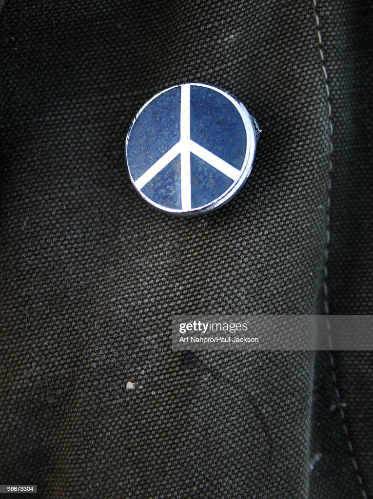 CND Peace Badge : Stock Photo