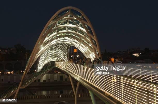 Peace Bridge over Kura River