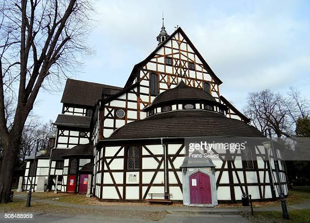 peace church in swidnica - frans sellies stockfoto's en -beelden