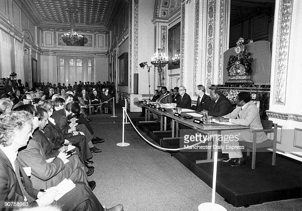 Peace conference in London confirming the independence of Rhodesia a former British colony The country became officially independent in 1979 and was...
