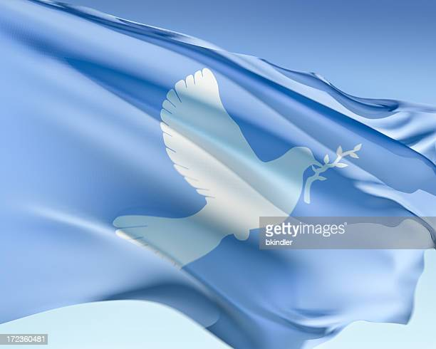 peace flag - peace symbol stock photos and pictures