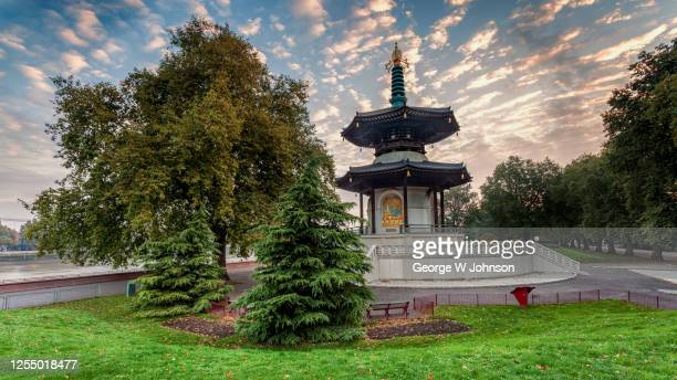 peace iii - battersea park stock pictures, royalty-free photos & images