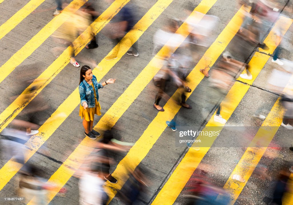 Vrede in de stad : Stockfoto